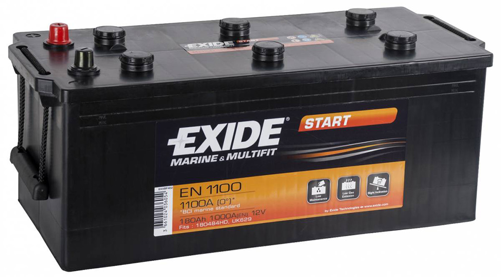 Boat Battery Plymouth Exide